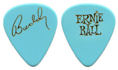 BUDDY HOLLY Guitar Pick : 1990 Broadway play story blue Ernie Ball