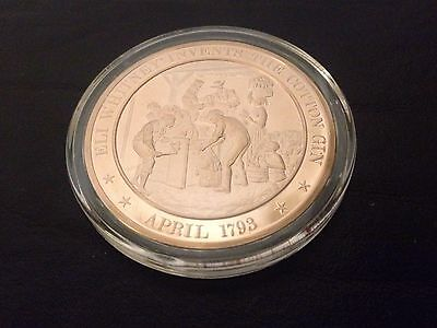 1793 - Franklin Mint History of the United States Bronze Coin