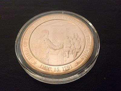 1791 - Franklin Mint History of the United States Bronze Coin