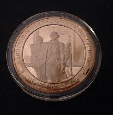 1783 - Franklin Mint History of the United States Bronze Coin