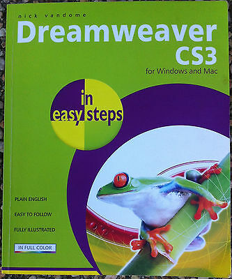 Adobe Dreamweaver CS3 for WINDOWS and MAC in Easy Steps Nick Vandome Manual