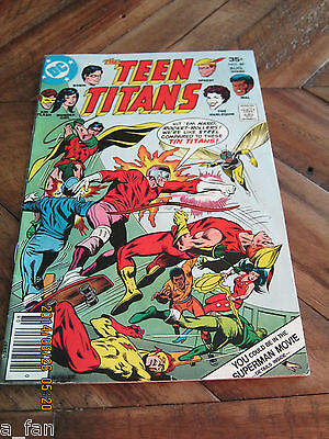 Teen Titans # 49 August 1977 Harlequin Cover and appearance - DC Comics