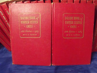 2-1965 RED BOOK 18th Edition A GUIDE BOOK of  UNITED STATES COINS by R.S.YEOMAN
