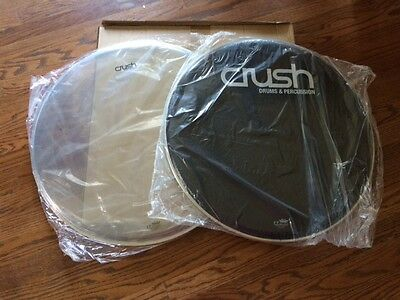 Crush Heads from 22 Inch Eminent Series Bass Drum