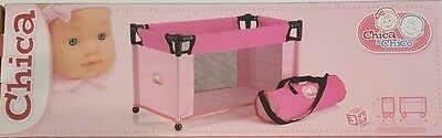 Brand New**doll Portable Travel Cot**pink