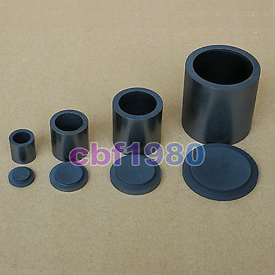1.5/5.7/15/60 oz High Purity Graphite Melting Crucible Casting With Lid Cover