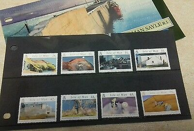 Isle of Man 2007 NORMAN SAYLE (watercolour paintings) - Unmounted mint set