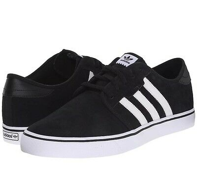 Adidas Seeley Suede Black And White, Skateboarding Shoe 8.5