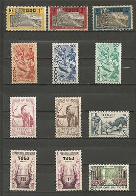 Togo - Nice Mint And Used Selection.