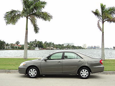 2004 Toyota Camry  2004 TOYOTA CAMRY LOW 38K MILES ACCIDENT FREE NOT LEXUS ACURA HONDA NO RESERVE!