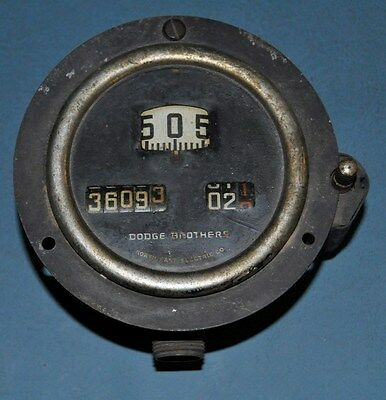 1923-26 Dodge Brothers Original Speedometer OEM Nice Used North East Electric Co