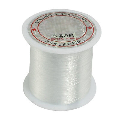 K9 0.2mm Diameter Clear Nylon Fish Fishing Line Spool Beading String