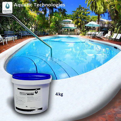 Aquatic Clear Drop for Pools 4kg - The quick & effective pool clarifier