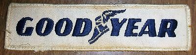 Vintage Uniform Sewing Patch - Goodyear Tires