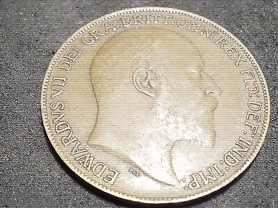 1909 Great Britain large penny - -sh Canada is 1.50