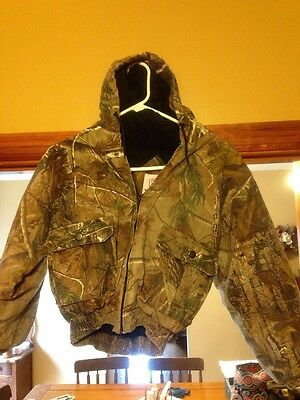 Youth Realtree AP HD Camo Hooded Coat Youth Small Insulated