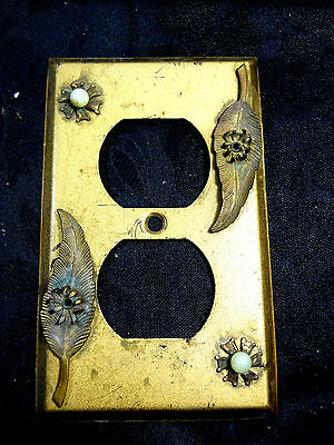 ANTIQUE WALL OUTLET with Jewlery design very rare find