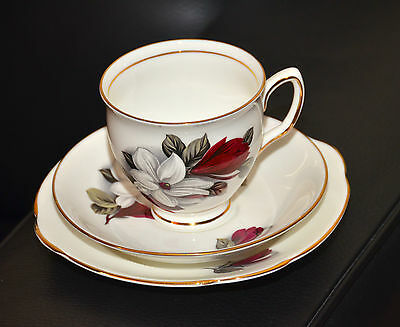 As New Vintage Duchess Bone China Trio Made in England