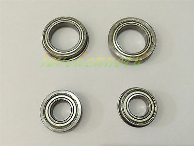 Flange Thin-wall Ball Bearing F6700ZZ To F6702ZZ Metal Shield Flanged Bearings