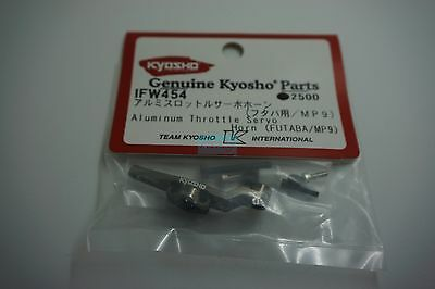 Kyohso Aluminum Throttle Servo Horn/Futaba/MP9/ (IFW454)