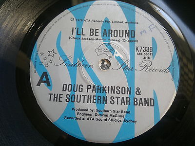 "DOUG PARKINSON & THE SOUTHERN BAND - I'll Be Around - SSR 45s""   NORTHERN SOUL"