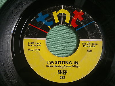 "SHEP - I'm Sitting In - Fool To Fool - TNT 45s""    NORTHERN SOUL"