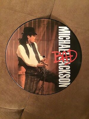 Michael Jackson Leave Me Alone - BAD Picture Disc