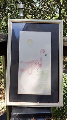 Flamingo's signed and numbered Art by Ferraguto