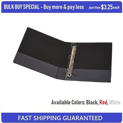 BULK BUY SPECIAL High Quality Insert Binder A4 3 D-Ring 25mm
