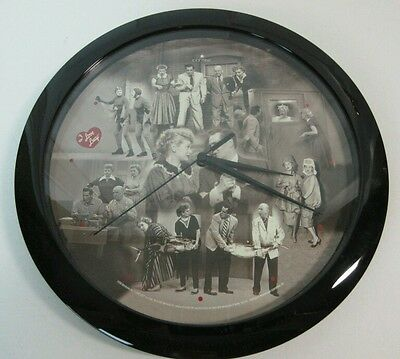 I Love Lucy Wall Clock Working 11 Inch Centric Memorbilia Battery