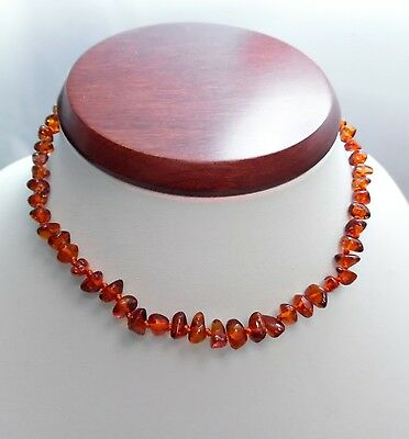 Baltic amber teething necklace Sold by manufacturer.  TA-178