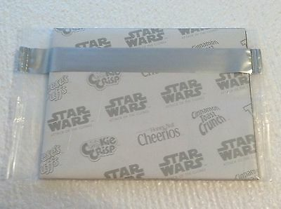 "NEW STAR WARS Mini Poster ""ATTACK OF THE CLONES"" General Mills Cereal FREE SHIP"