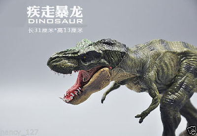 Jurassic Dinosaur WaLking Tyrannosaurus Rex Animal Figurine Toy Collectible