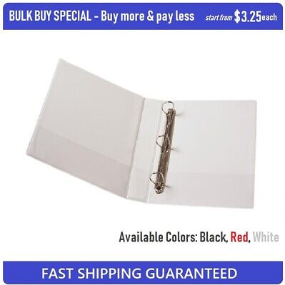 BULK BUY SPECIAL High Quality Insert Binder A4 3 D-Ring 40mm