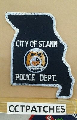 St Ann, Missouri Police Shoulder Patch Mo