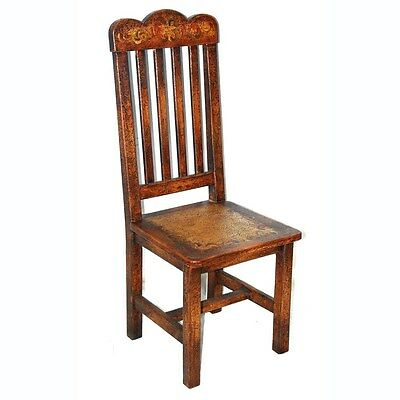 Silkroute SC2041LSC Lima Side Chair Hand Painted