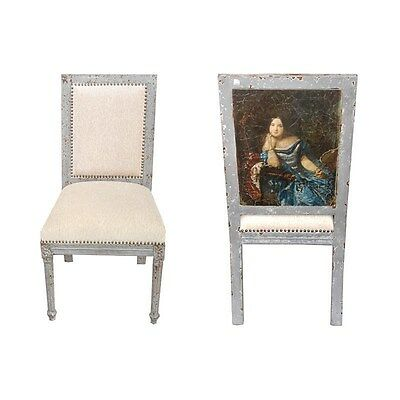 Silkroute SC2109-5  Adora Side Chair with Painting