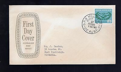 Australia 1965 FDC International Co-Op see scans x2