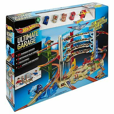 Hot Wheels Ultimate Garage Track Playset HW Christmas Toy Xmas Cars DRB25 MATTEL