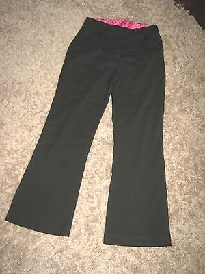 1 x Girls Black School trousers age 10 in good condition