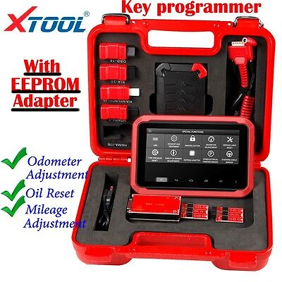 Neu XTOOL X-100 PAD Tablet Programmer with EEPROM Adapter Android System