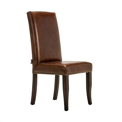 Silkroute SCD5  Artsome Fina Leather Side Chair