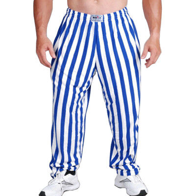 Men Bodybuilding Clothing Gym Pants Fitness Trouser Cotton Loose Casual Sports