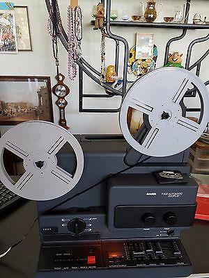 Bauer T 502 Automatic Duoplay 8Mm Super Ton  Video Projector (W 0071)