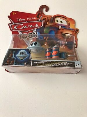 Disney Pixar Cars Mator With Oil Cans Diecast 1:55 Combine Post Mater UFO Martin