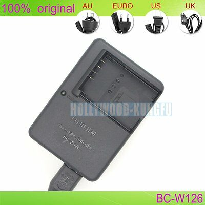 Genuine Original BC-W126 Charger for FUJIFILM X-Pro1 XM1 HS30EXR NP-W126 battery