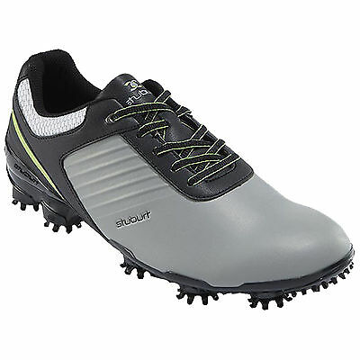 Stuburt 2016 Sport Tech Golf Shoes in Grey/Black Uk Size 11