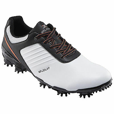 Stuburt 2016 Sport Tech Golf Shoes in White/Black Uk Size 8