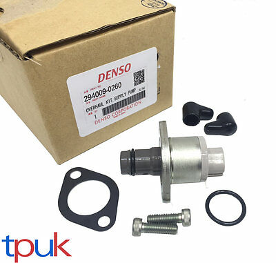 Denso New Fuel Injection Pump Metering Valve Ford Transit Mk7 06 On 294009-0260