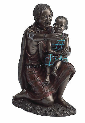 Maasai Tribes... Figure - Salama Arms Of Safety #18171 new in box
